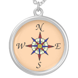 Compass Rose Necklace necklace