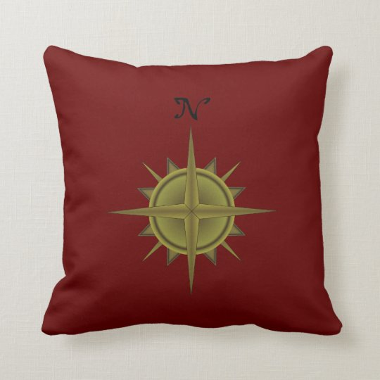 Compass Rose Pillow