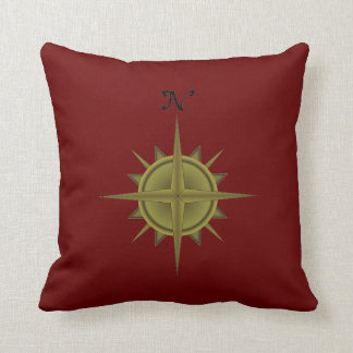 Compass Rose Pillow