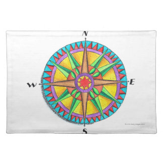 Compass Rose Placemats