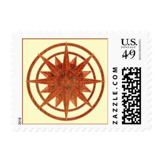 Compass Rose Postage