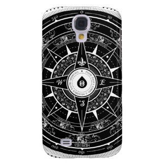 Compass Rose - Samsung Galaxy S4 Case (Black)