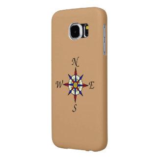 Compass Rose Samsung Galaxy S6 Case