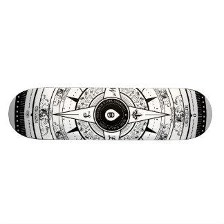 Compass Rose - Skateboard