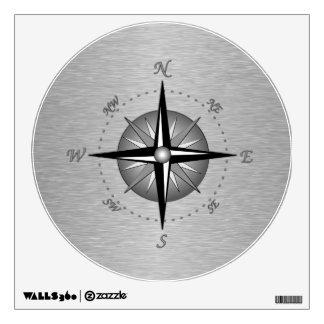 Compass Rose Wall Skin