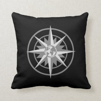 Compass Rose with Globe Pillows