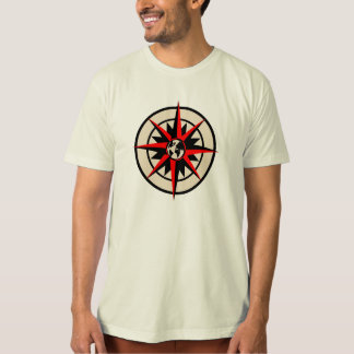 Compass Rose with Globe T-shirts