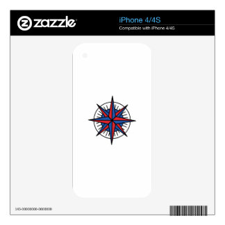 COMPASS DECALS FOR THE iPhone 4S