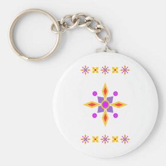 Compass Star Keychain