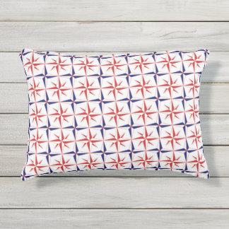 Compass Star Outdoor Pillow