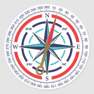 compass stickers