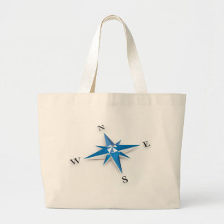Compass Tote Bags