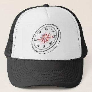 Compass Trucker Hat