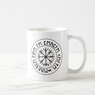Compass Viking Coffee Mugs