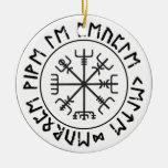 Compass Viking Ornaments