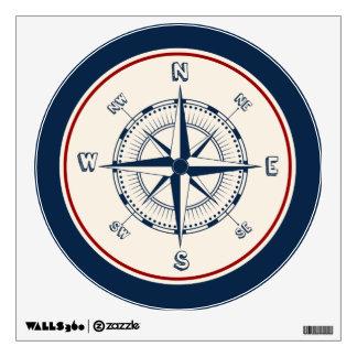Compass Wall Sticker
