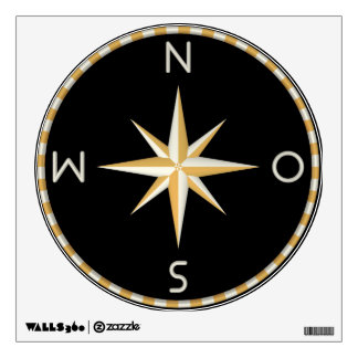 compass room decal