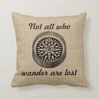 Compass - Wanderer Pillow