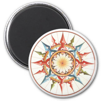 compass wind rose magnet