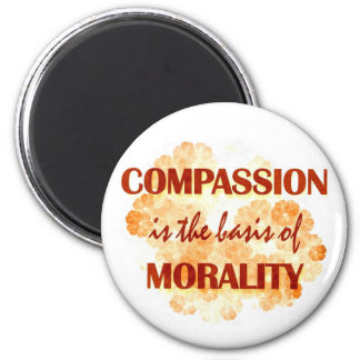 Compassion 2 Inch Round Magnet