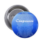 Compassion Buddha Badge Buttons