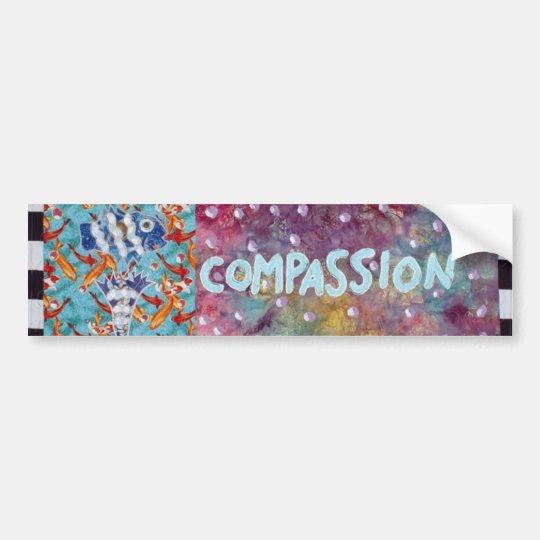 Compassion Bumper Sticker