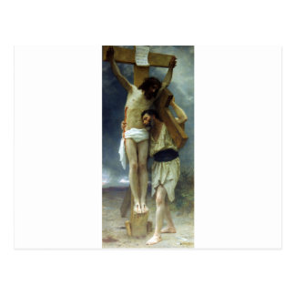 Compassion by William-Adolphe Bouguereau Postcard
