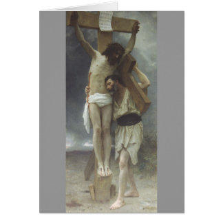 Compassion by William Bouguereau Greeting Card