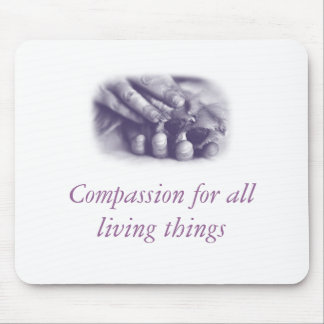 Compassion Hand and Paw Mousepad