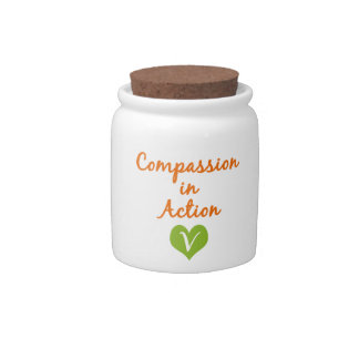 Compassion in Action Candy Dishes