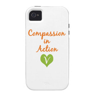 Compassion in Action iPhone 4 Cases