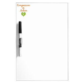 Compassion in Action Dry-Erase Whiteboard