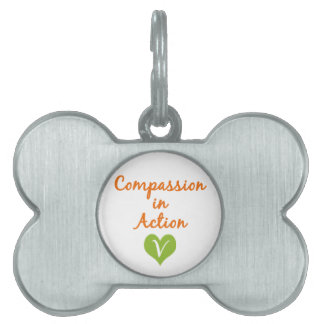 Compassion in Action Pet Name Tags