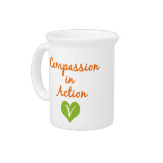 Compassion in Action Drink Pitchers
