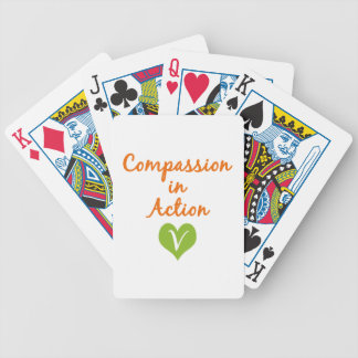 Compassion in Action Bicycle Playing Cards