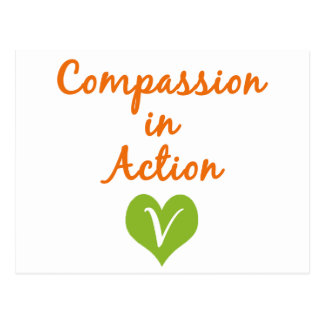 Compassion in Action Postcard