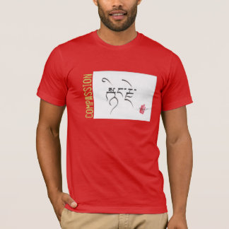 Compassion in Tibetan Eco-Blend T-Shirt