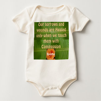 Compassion infant onsie creeper