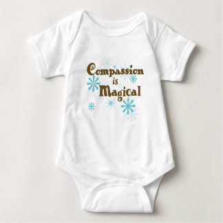 Compassion is Magical Baby Bodysuit
