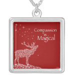 Compassion is Magical Personalized Necklace