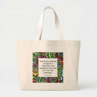 Compassion is taught bag