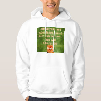Compassion mens hoodie