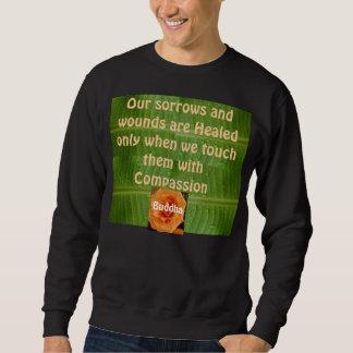 Compassion mens sweatshirt