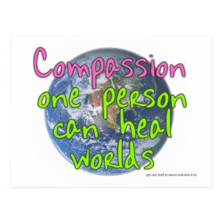 Compassion One Person (Light) Postcard