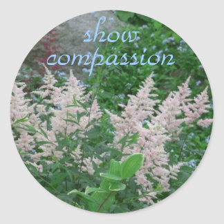 Compassion Classic Round Sticker