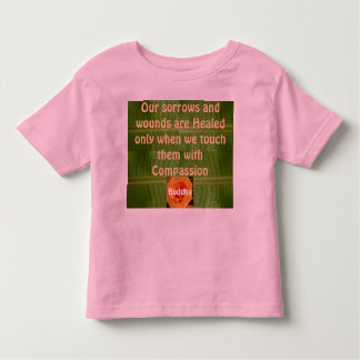 Compassion toddler shirt