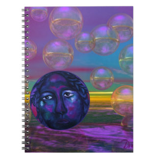 Compassion – Violet and Gold Awareness Note Book