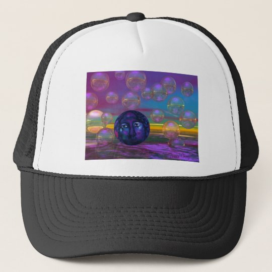 Compassion – Violet and Gold Awareness Trucker Hat
