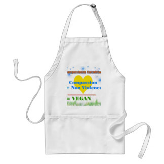 Compassionate Calculation Adult Apron