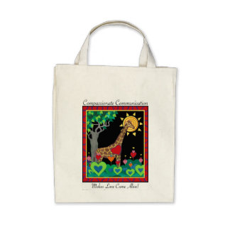 Compassionate Communication Makes Love tote2 Bag